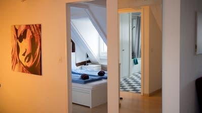Hit Rental vermietet Wohnungen im alten Hotel Schiff in Luzern. Booking, Airbnb, Hotel, Touristen.  Bild: Corinne Glanzmann Luzern, 07. August 2019 (Corinne Glanzmann / Luzerner Zeitung)