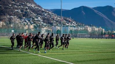 FC Lugano: Nicht einmal mehr gemeinsame Trainings sind erlaubt. (Key)