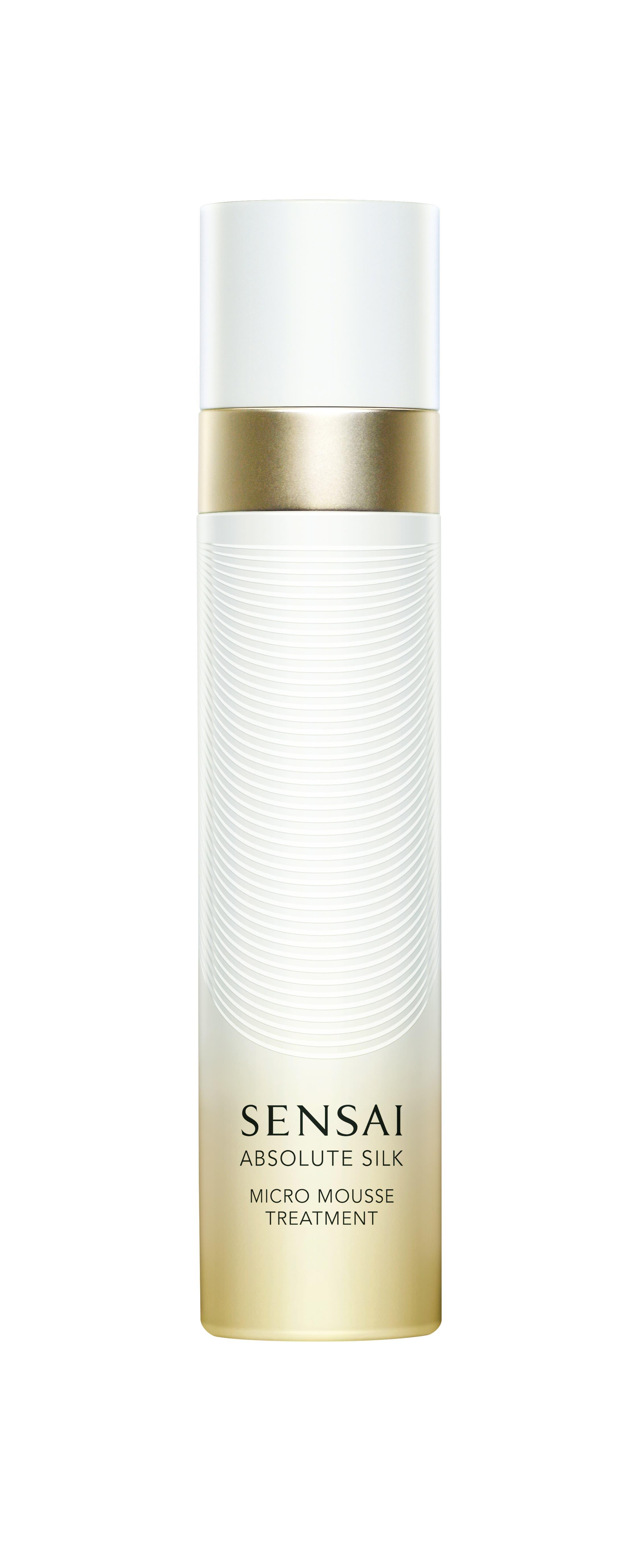 Lässt den Teint leuchten: Das Micro Mousse Treatment von Sensai regeneriert, Seidenextrakt sorgt für Leuchtkraft und verhindert Feuchtigkeitsverlust. 229 Fr., z.B. bei Globus.