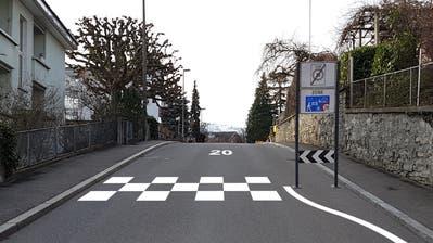 Eine Fotomontage des Zonenportals auf Höhe Bergstrasse 19. (Bild: PD)