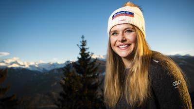 Keine Kugeln, kein Empfang: Corinne Suter darf ihre Skierfolge nur im stillen Kämmerlein feiern