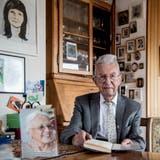 Preisträger Alexander Wili bei sich zu Hause in Kriens. (Bild: Nadia Schärli, Kriens 27. Februar 2020)