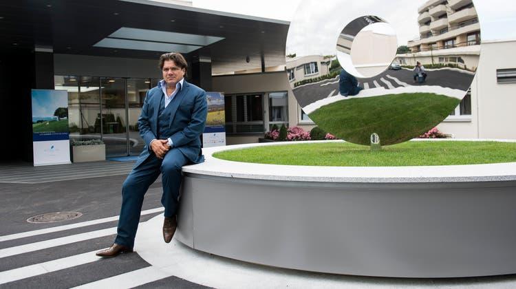 Antoine Huber, der Chef von Genolier – wozu als Spitalsparte auch die PrivatklinikgruppeSwiss Mecial Network gehört. (Archivbild) (Keystone)