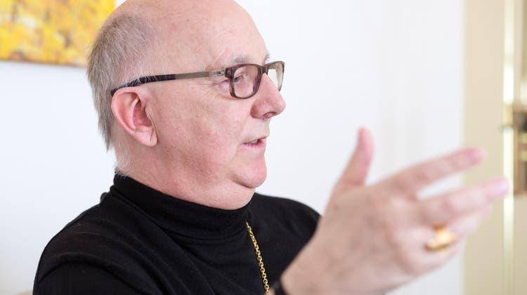 Marian Eleganti ist seit 2009 Weihbischof von Chur. Zuvor war er Abt der Abtei St. Otmarsberg (SG). (Sandra Ardizzone)
