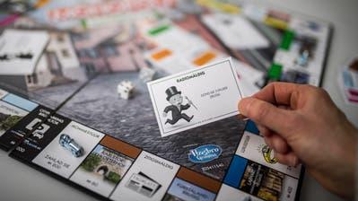 Das Monopoly im St.Galler Dialekt war innert weniger Monate ausverkauft. (Bild: Benjamin Manser)
