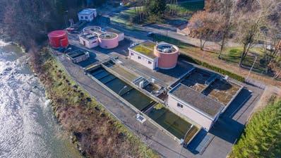 Die Bütschwiler Abwasserreinigungsanlage. (Bild: Anina Rütsche)