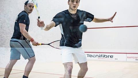 Die Meister im Squash werden später ermittelt
