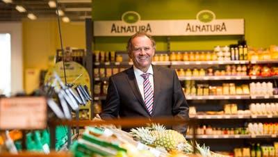 Felix Meyer, Geschäftsleiter der Genossenschaft Migros Luzern. (Dominik Wunderli (Ebikon, 21. März 2017))