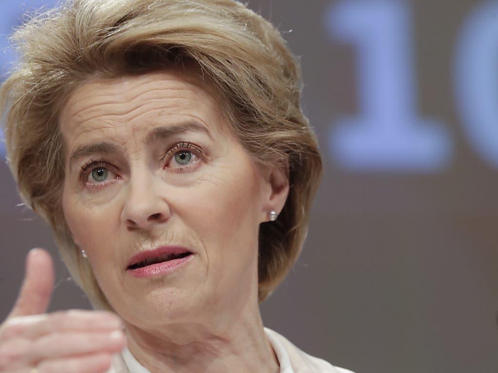 Kampf gegen Coronavirus: EU-Kommissionspräsidentin Ursula von der Leyen will Einreisen in die EU aussetzen.