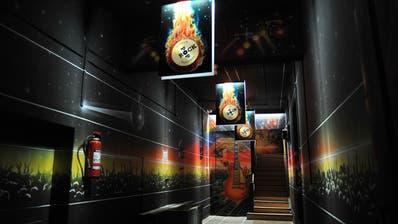 Der Gang ins Rock-und-Pop-Museum Niederbüren bleibt vorerst leer. (Bild: Nana Do Carmo)