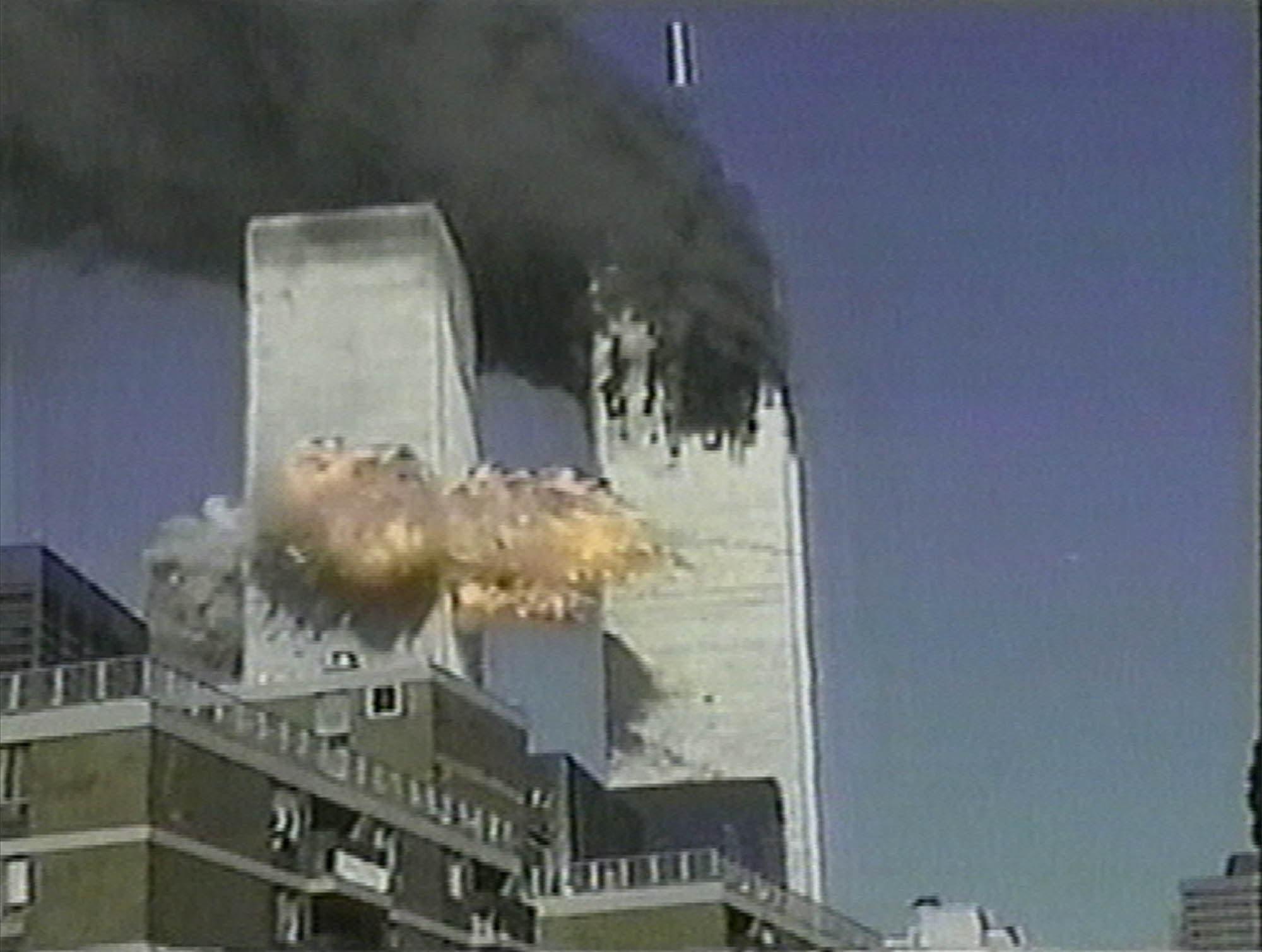 Der 11. September 2001: Zwei Passagierflugzeuge fliegen in die «Twin Towers» in New York.