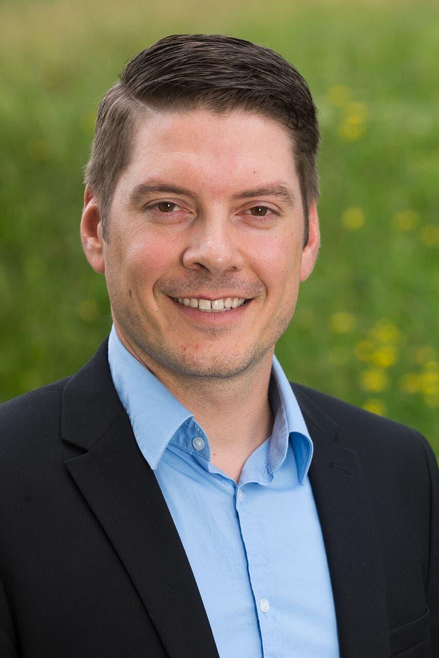 Roger Scheidegger,  FDP (bisher)