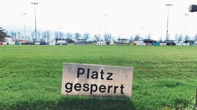 Geistertraining in den Vereinen: Die Rheintaler Sportplätze bleiben wegen der Corona-Krise ungenutzt