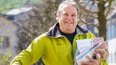 Der Stanser Buchhändler Martin von Matt. (Bild: Adrian Venetz (Stans, 18. März 2020))