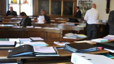 Der Nidwaldner Landratssaal im Rathaus bleibt vorerst leer. (Symbolbild: Nidwaldner Zeitung)