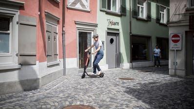 Obwohl sie keinen ökologischen Nutzen bringen: Die Stadt St.Gallen fährt auf E-Trottis ab