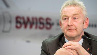 Thomas Klühr, Swiss-Chef, hat trotz guten Gewinnzahlen derzeit grosse Sorgen. (Ennio Leanza / KEYSTONE)
