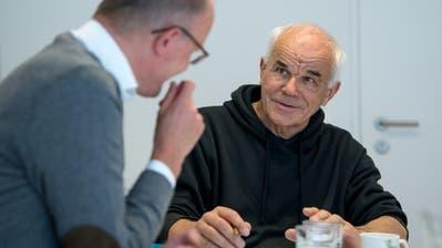 Martin Kopp (rechts) war Generalvikar der Urschweiz. (Bild: Nadia Schärli)