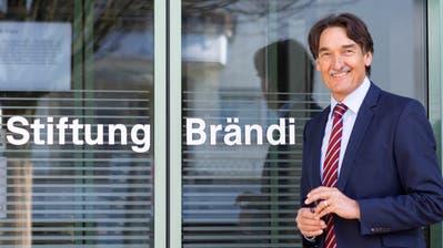Pirmin Willi, der Leiter der Stiftung Brändi, geht im Frühling in Pension. (Bild: Patrick Hürlimann)