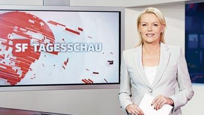 «Miss Tagesschau»: Fast dreissig Jahre war Katja Stauber das Gesicht der Nachrichtensendung. (Bild: SRF)