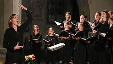 Ulrike Grosch, Chorleiterin in der Franziskanerkirche Luzern.