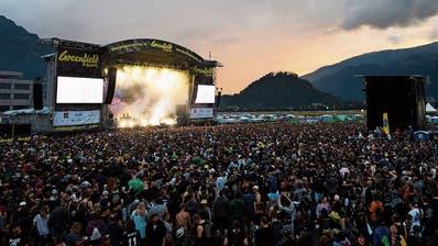 Das Greenfield-Festival in Interlaken sollte Mitte Juni über die Bühne gehen. Ob es stattfinden wird, ist ungewisser denn je. (Bild: Keystone)