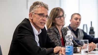 VBL-Direktor Norbert Schmassmann und VBL-Verwaltungsratspräsidentin Yvonne Hunkeler an der Medieninformation. (Bild: Nadia Schärli (Luzern, 2. März 2020))