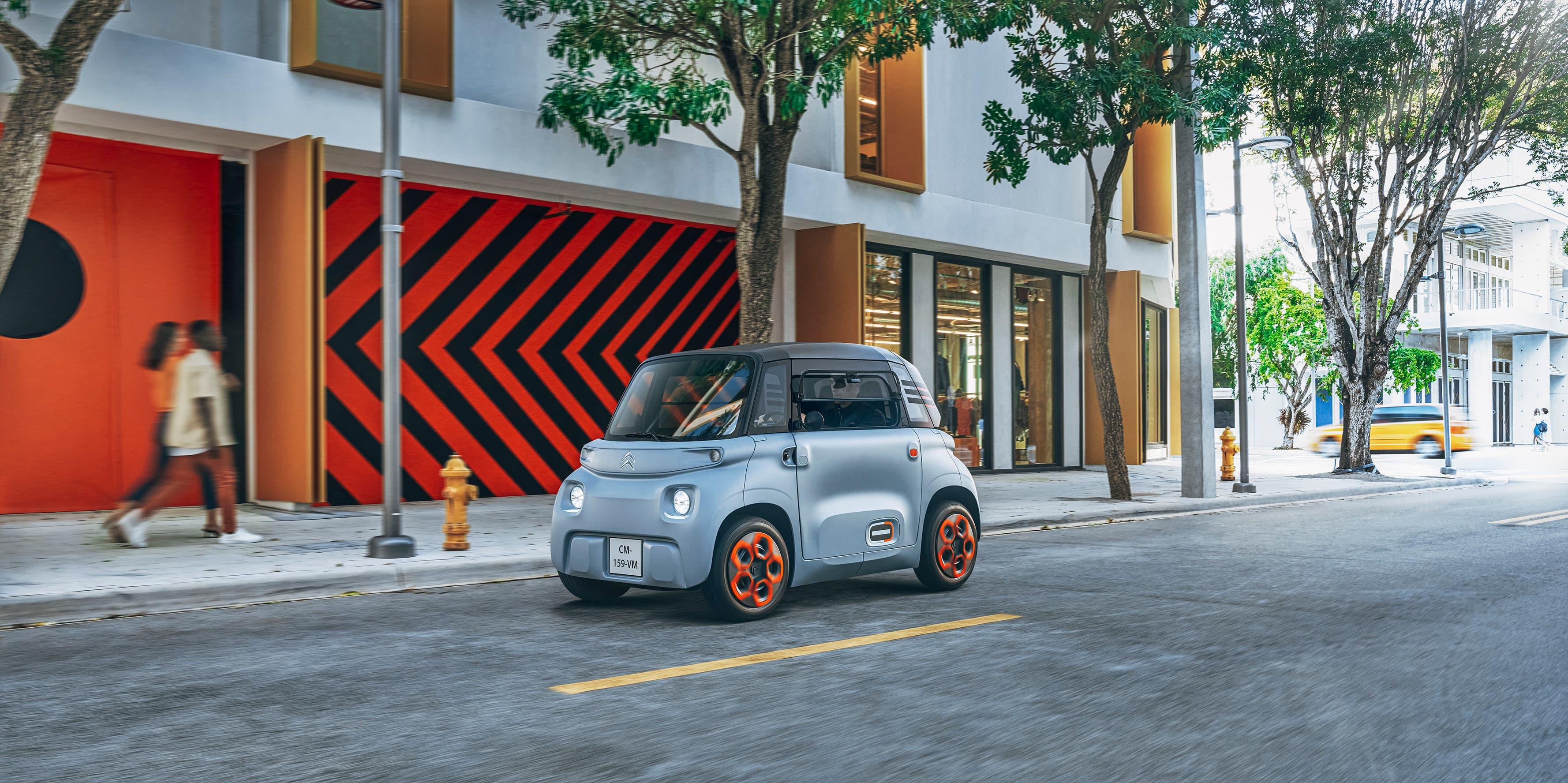 Der Citroën Ami polarisiert durch ungewöhnliches Design.