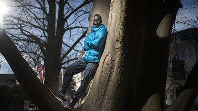 Der Langstreckenläufer Dominic Lobalu vom LC Brühl: «Ich muss rennen!» (Bild: Benjamin Manser)