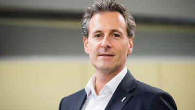 Präsident und CEO des FC Luzern: Philipp Studhalter. (Urs Flüeler/Keystone (Luzern, 1.Oktober 2018))