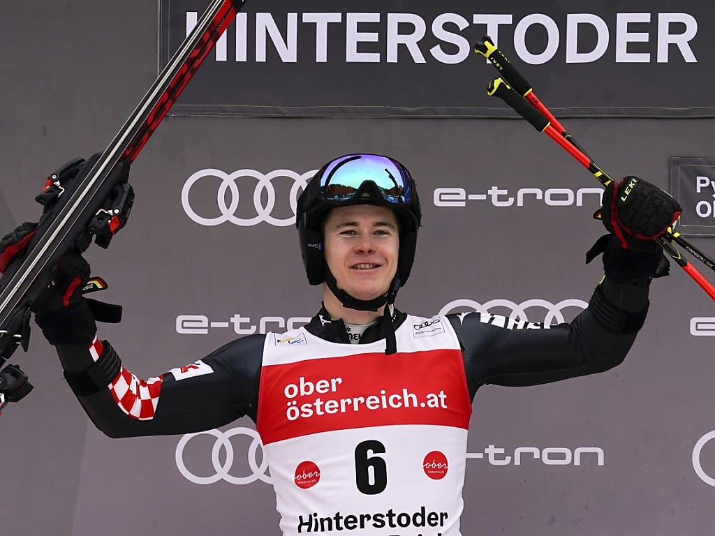 Filip Zubcic bestätigte eine Woche nach seinem ersten Weltcup-Sieg seine Hochform mit dem 2. Platz