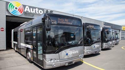 Auto AG Rothenburg reduziert ihren Fahrplanab Montag