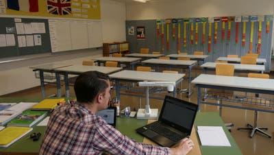 Toni Durrer, Oberstufenlehrer in Stansstad. (Bild: Adrian Venetz (Stansstad, 21. März 2020))