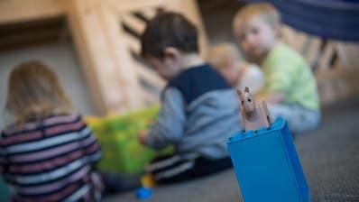 Nur noch wenige Kinder werden im Moment in den Kinderkrippen der Stadt betreut. (Bild: Pius Amrein)