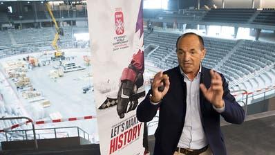 Nach der Absage der Eishockey-WM bleibt die leise Hoffnung auf 2021