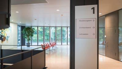 Im ersten Stock des St.Galler Rathauses ist das Zivilstandsamt. (Bild: Lisa Jenny (3. Oktober 2019))