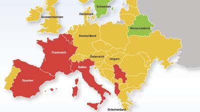 So gehen die Länder in Europa gegen die Corona-Epidemie vor– undSchweden feiert einfach weiter