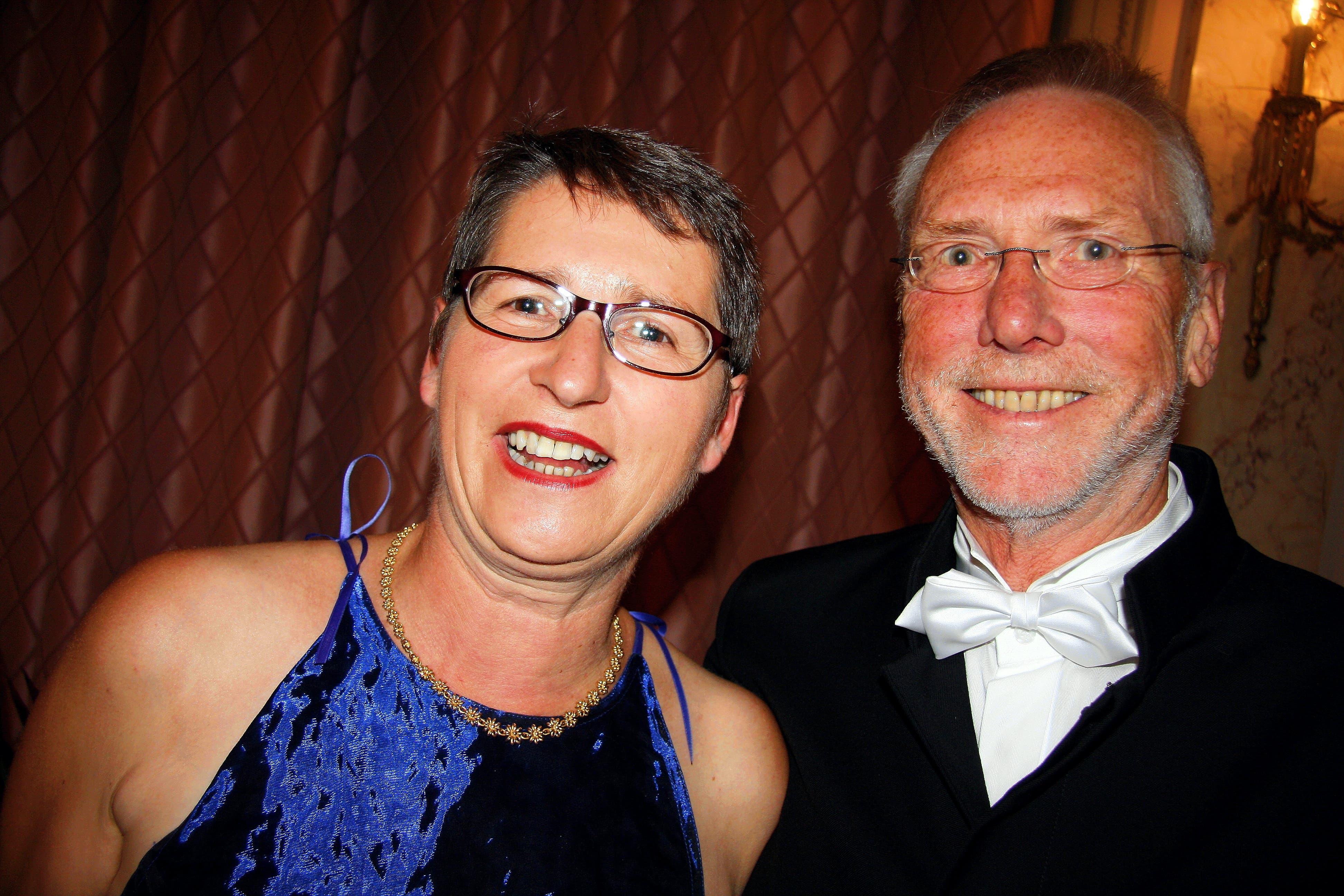 Ursula Stämmer-Horst mit ihrem Ehemann Bruno am Lucerne Festival.
