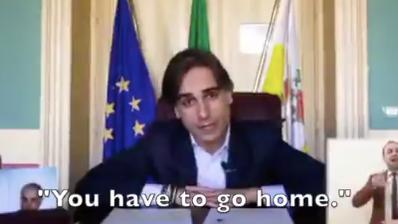 «Ma dove cazzo andate?» So emotional appellieren italienische Bürgermeister ans Volk