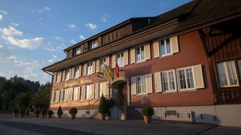 Der Landgasthof Wartegg in Wigoltingen. (Bild: PD)