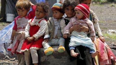 Mentale Probleme unter Kindern im Kriegsland Jemen weit verbreitet