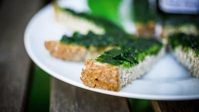 Bärlauchpaste schmeckt an Nudeln und auf dem Brot. (Chris Iseli/Az / BRU)
