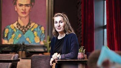 Neu in Zug: Mittlerweile fühlt sich Elina Kazina zu Hause
