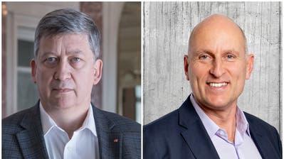 Patrick Hauser, FDP-Kantonsrat aus Adligenswil (links) und Gaudenz Zemp, FDP-Kantonsrat aus St. Niklausen. (Bilder: LZ)
