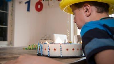 Lionel feierte am Freitag seinen Geburtstag ohne Gspändli. ((Bild: Reto Martin))