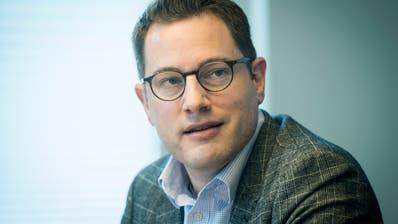 Jérôme Müggler. Direktor der Industrie- und Handelskammer (IHK) Thurgau. (Reto Martin)