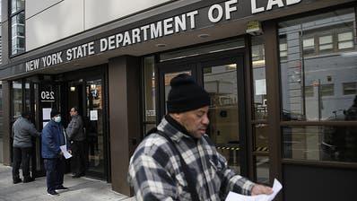 Coronakrise lässt US-Arbeitslosigkeit sprunghaft steigen