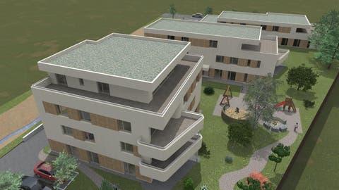 So sollen die Neubauten aussehen. (PD)