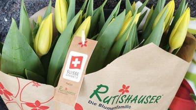 Das Tulpengeschenk kam so gut an, dass sich Beschenkte spontan an die Redaktion der «Wiler Zeitung» wandten. (Leserbild: Claudia Hälg)