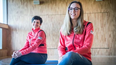 Isabelle Wepfer und Lea König führen den 300-köpfigen Verein für ein Jahr im Co-Präsidium. (Bild: Andrea Stalder (Alterswilen, 23. März 2020))